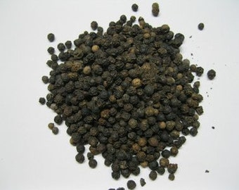 Black Peppercorns - 1 Ounce - 28 Grams - Resealable Bag