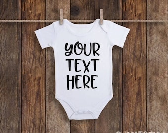 Personalized onesie etsy negle