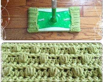 Crochet Reusable Swiffer/Dust Cover