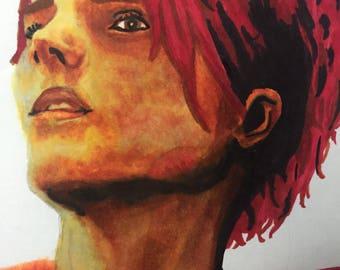 Origional Drawing: Gerard Way/copic drawing