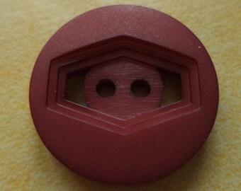8 dark red buttons 23mm (3721) button claret red