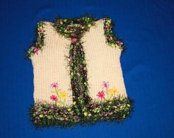 sleeveless vest for spring