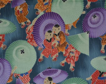 Novelty Japanese fabric Alexander Henry fabric Asian fabric Japanese fabric Japan boys day novelty print quilting fabric classic cotton
