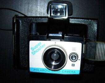 Polaroid Super Shooter Instant Land Camera Vintage 1970's