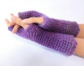 Fingerless Gloves, long f...
