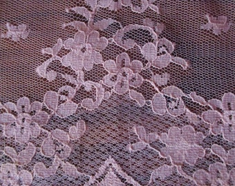 Vintage Lace Panel FREE SHIPPING Peach Color Nylon