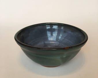 Blue Bowl- Handmade Pottery by JOY