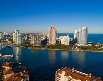 Miami Beach Government cut Fisher Island