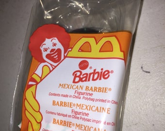 MCDONALD'S Happy Meal  MEXICAN BARBIE 1995 # 4 new old stock vintage 2L