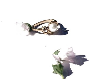 the SINGING RING | Vintage Engagement Ring