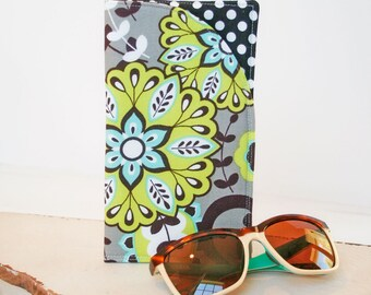 Mystic Night Eyeglass Case Sunglass Case Glass Sleeve Monogrammed Over sized glass Cases  Funky Sunglass case Monogrammed Sunglass sleeves