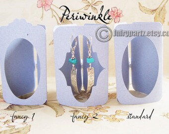 9•TRIFOLD•2 x 3 inch•EARRING CARDS•Jewelry cards•Earring Display•Earring Holder•Tent Card