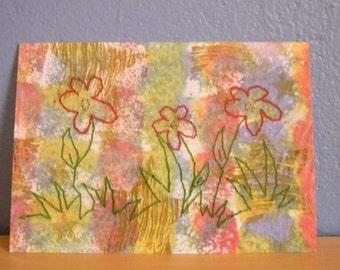 Flowers Postcard Print