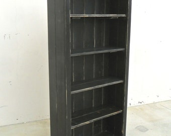 Bookcase, Display Cabinet, Reclaimed Wood, Vintage, Rustic