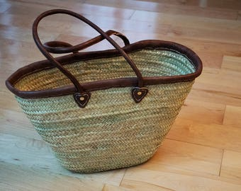 Handwoven Basket (Moroccan)