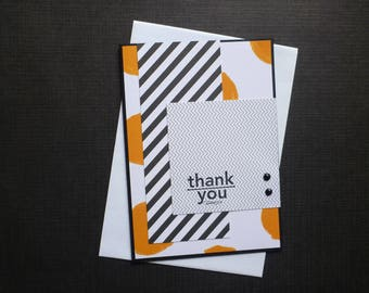 Bright Thankyou Card  FREE SHIPPING