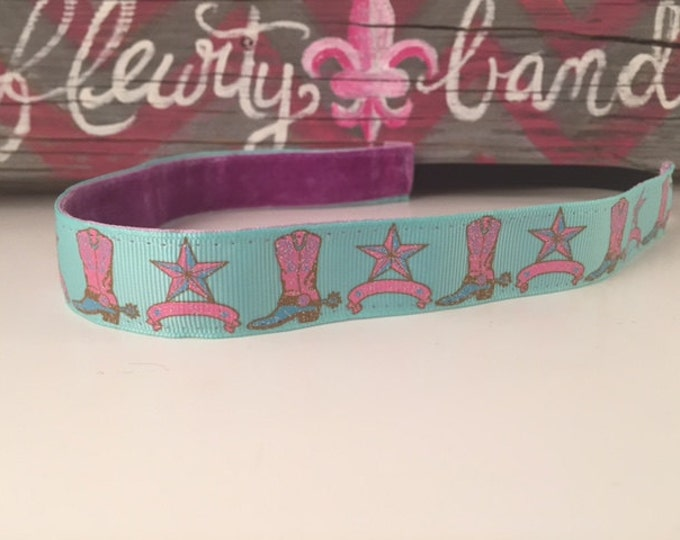 Nonslip headband|Pink Boots