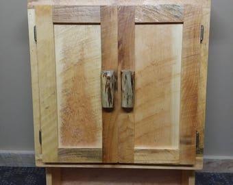 Rustic Log Toilet Topper