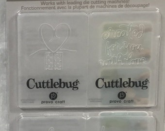 Cuttlebug TO/FROM Embossing Folder