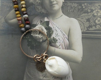 1908 easter chick . necklace