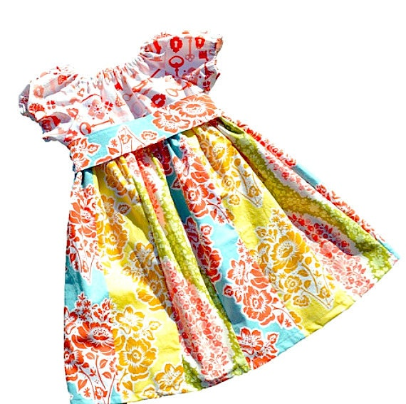 Girls Dress Pattern Peasant Dress Pattern Sewing Patterns