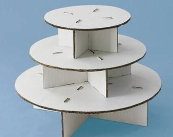 Petite Round Cupcaketree. Cupcaketree.com, Cupcake Stands, DIY Cupcake Stand, Cupcake Display, Holds 36 Cupcakes, Display for Cupcakes,
