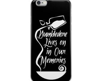 "Dumbledore Memories"" Harry Potter Inspired Hogwarts, Albus Dumbledore iPhone Case"