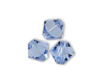 50 Swarovski bicone 3mm light sapphire Swarovski Crystal