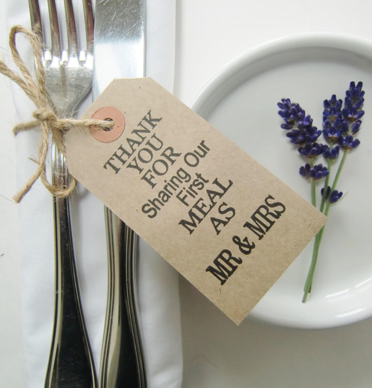 Rustic Wedding Napkin Ties-Wedding Table Decor-THANKYOU FOR