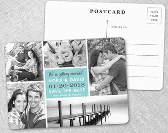 Moments - Postcard - Save-the-Date