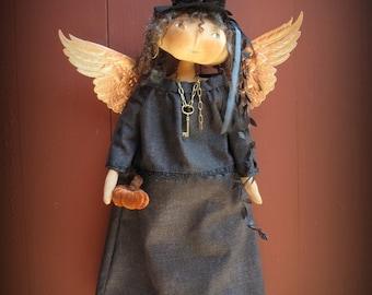 Isabelle Brimstone Halloween Angel KIT by cheswickcompany