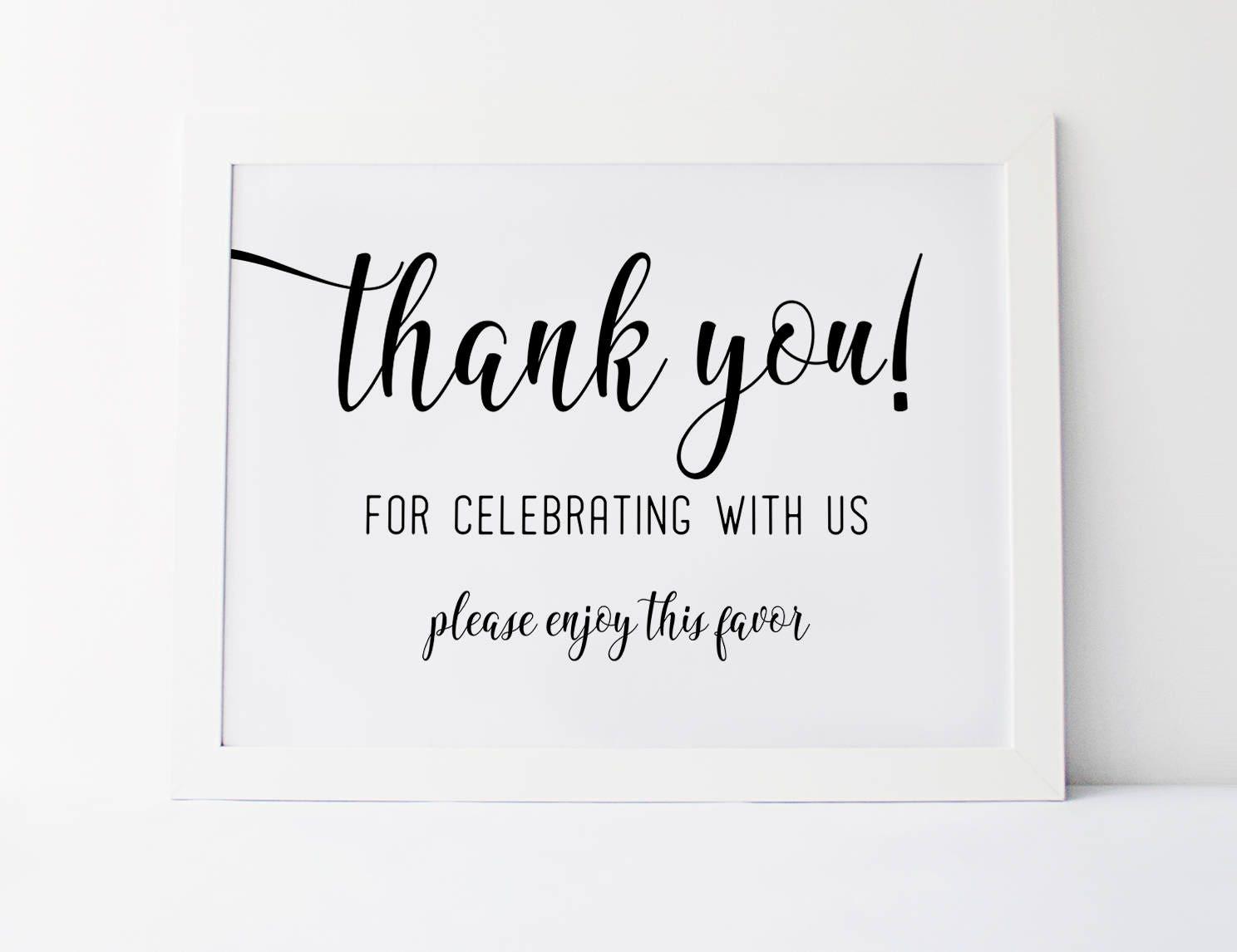 Wedding Favor Sign Wedding Signage Reception Signs Wedding