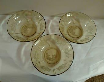 Sets of 3 Sharon Cabbage Rose Serving Bowls