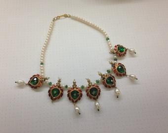 24K Indian Wedding Necklace