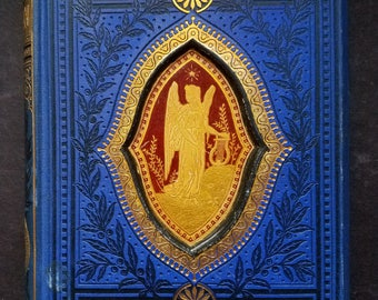 Milton's Poetical Works - Late Victorian Edition, 19th Cent. - Gall and Inglis - Edinburgh/London