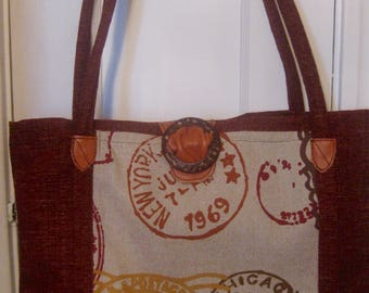 ON SALE/ Postmarked Tote Bag