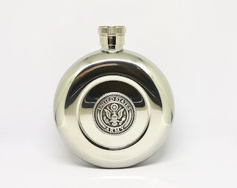 US Army Flask – Metallic