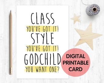 funny godmother card printable funny godfather card instant download godmother proposal will you be my godparent do you want a godchild