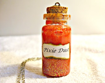 Bottle Necklace - Pixie Dust (shipping included)