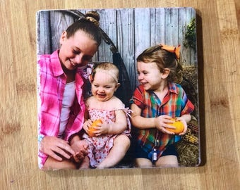 Personalized Photo Tile
