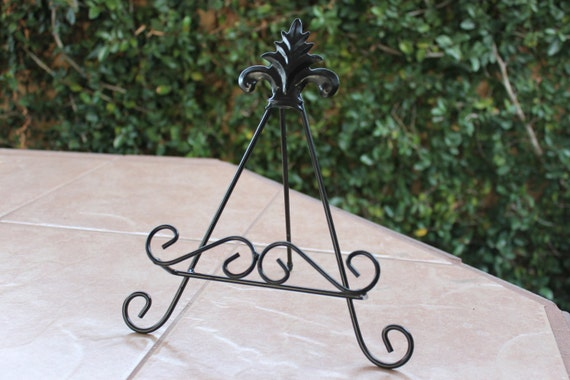 Like this item? & Decorative Rustic Iron Cutting Board Stand Plate Holder Hand