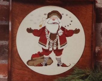 Counted Cross Stitch Pattern | Christmas | K. Nicholas Claus, Saint