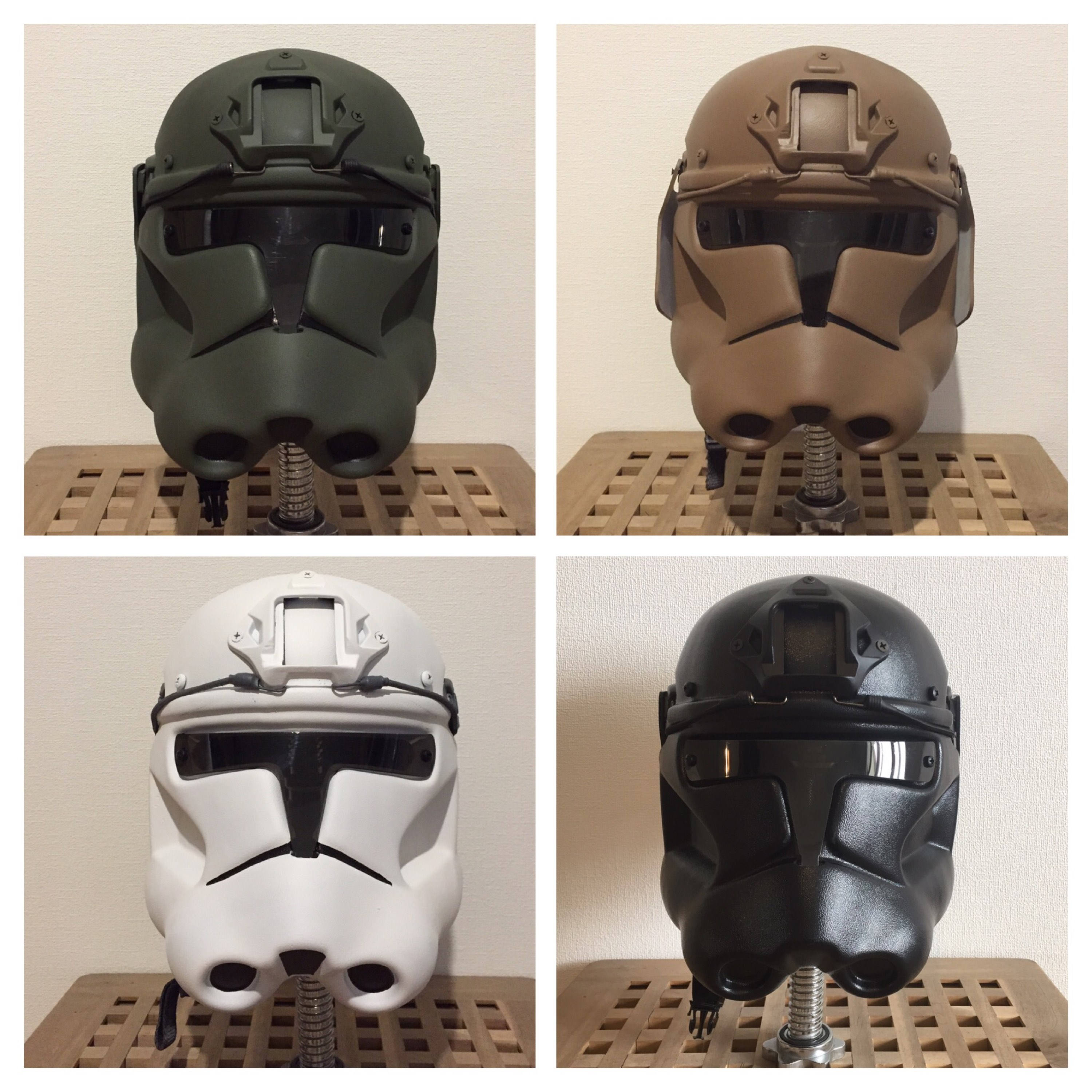 Clonetrooper Phase 2 Airsoft/Paintball Helm