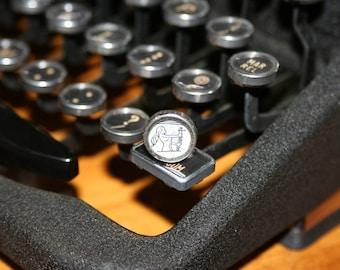 Virgo Typewriter Key Pin