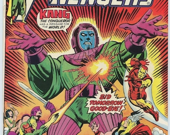 Avengers #129 - KANG the Conqueror! Solid copy!