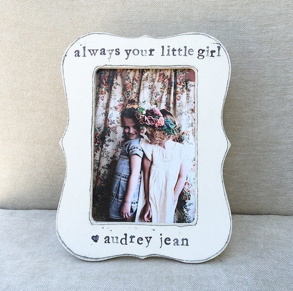 Dad gift Father\'s Day gift Always your little girl personalized ...