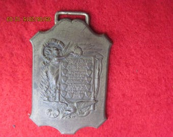 Vintage 1900's NATIONAL RIFLE ASSOCIATION Watch Fob