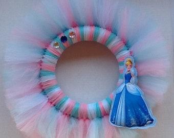 Princess tulle wreath