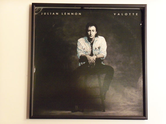 Glittered Record Album - Julian Lennon - Valotte