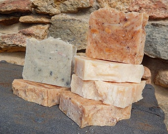 Bits and Pieces Soap - Discounted Soap - Handmade Soap - Affordable Soap - Rebatched Handmade Soap - Detergent Free Soap